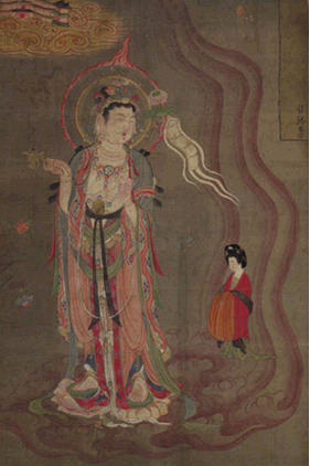 Tor sivertstol bodhisattva as guide of souls ink and for Musica orientale famosa